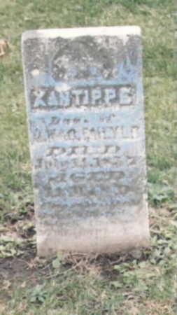 FAILYER, XANTIPPE - Wapello County, Iowa | XANTIPPE FAILYER