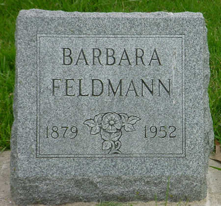GIEG FELDMANN, BARBARA - Wapello County, Iowa   BARBARA GIEG FELDMANN