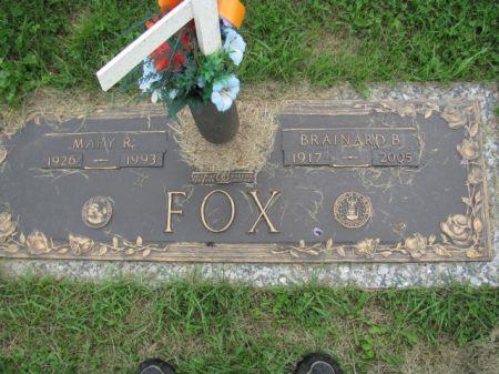 FOX, BRAINARD  B. - Wapello County, Iowa | BRAINARD  B. FOX