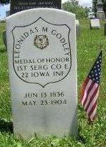 GODLEY, LEONIDAS - Wapello County, Iowa | LEONIDAS GODLEY