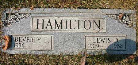 HAMILTON, LEWIS D. - Wapello County, Iowa | LEWIS D. HAMILTON