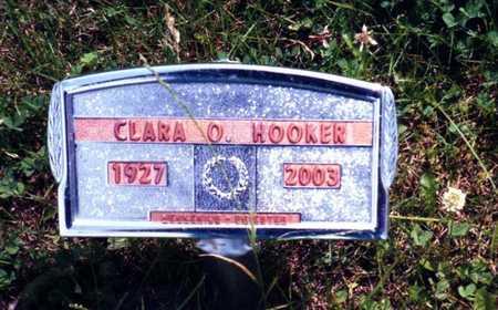 HOOKER, CLARA - Wapello County, Iowa | CLARA HOOKER