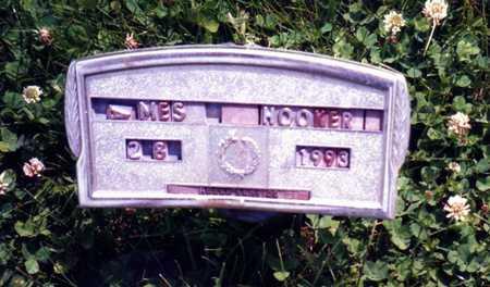 HOOKER, JAMES - Wapello County, Iowa | JAMES HOOKER