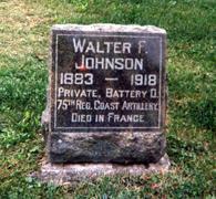JOHNSON, WALTER FERNON - Wapello County, Iowa | WALTER FERNON JOHNSON