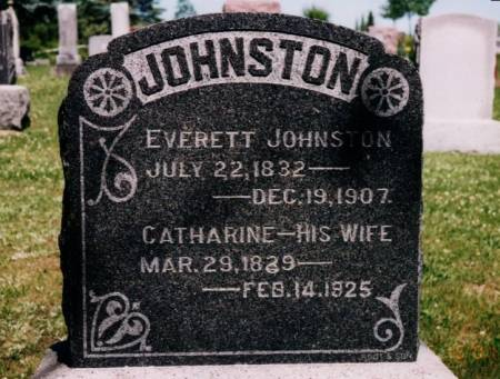 JOHNSTON, CATHARINE - Wapello County, Iowa | CATHARINE JOHNSTON