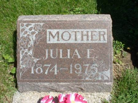 JOHNSTON, JULIA - Wapello County, Iowa | JULIA JOHNSTON