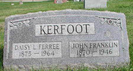 FERREE KERFOOT, DAISY - Wapello County, Iowa | DAISY FERREE KERFOOT