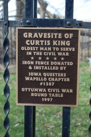 KING, CURTIS - Wapello County, Iowa | CURTIS KING
