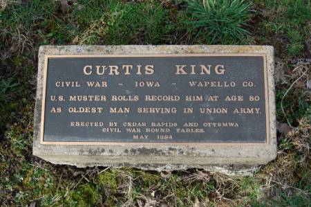 KING, CURTIS - Wapello County, Iowa   CURTIS KING