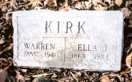 KIRK, ELLAJ. - Wapello County, Iowa | ELLAJ. KIRK