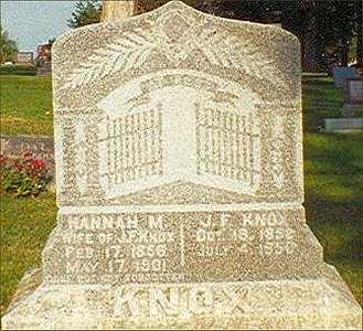 KNOX, JAMES - Wapello County, Iowa | JAMES KNOX