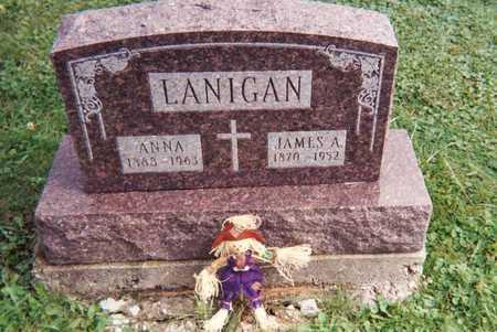 PHILLIPS LANIGAN, ANNA M. - Wapello County, Iowa   ANNA M. PHILLIPS LANIGAN