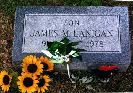 MITCHELL LANIGAN, JAMES - Wapello County, Iowa   JAMES MITCHELL LANIGAN