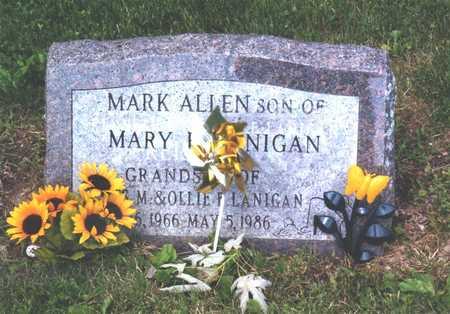 REISENAUER LANIGAN, MARL ALLEN - Wapello County, Iowa | MARL ALLEN REISENAUER LANIGAN