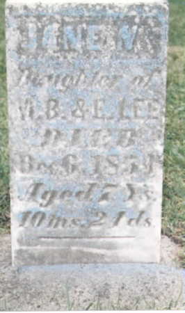 LEE, JANE N. - Wapello County, Iowa | JANE N. LEE