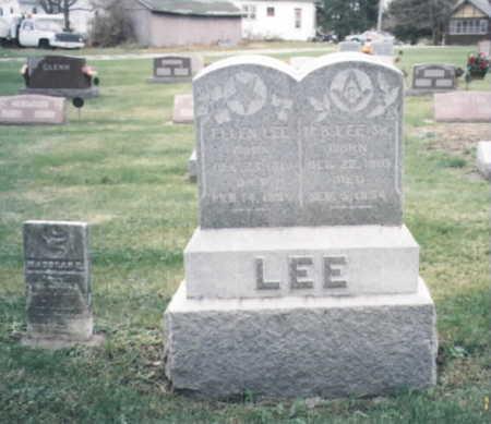 MCEWEN LEE, ELLEN - Wapello County, Iowa | ELLEN MCEWEN LEE
