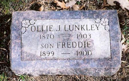 LUNKLEY, OLLIE J, - Wapello County, Iowa | OLLIE J, LUNKLEY