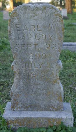 MCCOY, EARL - Wapello County, Iowa | EARL MCCOY