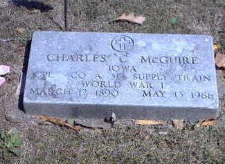MCGUIRE, CHARLES C. - Wapello County, Iowa | CHARLES C. MCGUIRE