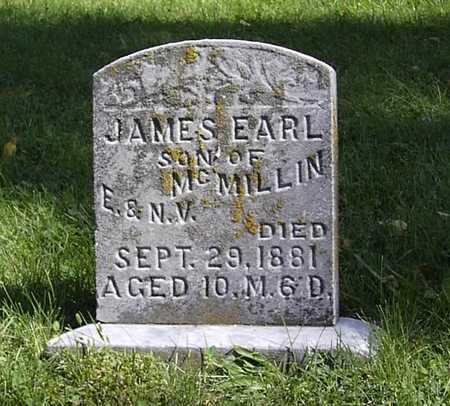 MCMILLIN, JAMES EARL - Wapello County, Iowa | JAMES EARL MCMILLIN