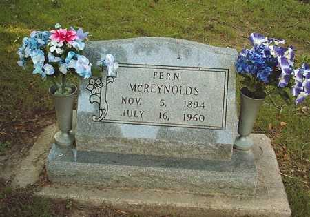 MCREYNOLDS, FERN - Wapello County, Iowa | FERN MCREYNOLDS