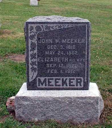 DAY MEEKER, ELIZABETH - Wapello County, Iowa   ELIZABETH DAY MEEKER