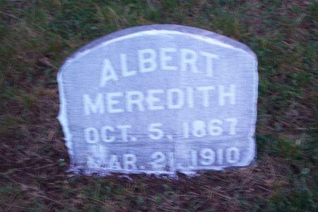 MEREDITH, ALBERT PRESTON - Wapello County, Iowa | ALBERT PRESTON MEREDITH