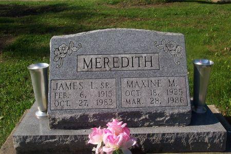 MEREDITH, JAMES LESLIE - Wapello County, Iowa   JAMES LESLIE MEREDITH