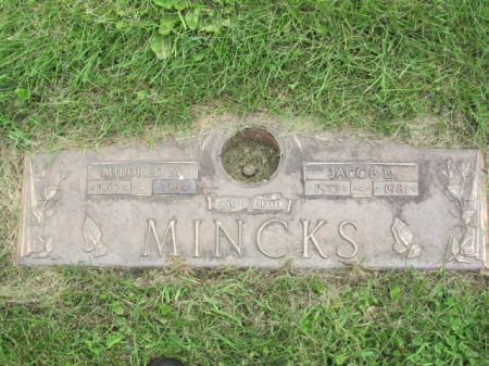 MINCKS, MILDRED  M. - Wapello County, Iowa | MILDRED  M. MINCKS