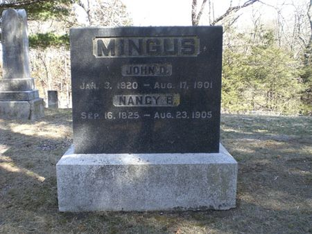 MINGUS, NANCY B. - Wapello County, Iowa | NANCY B. MINGUS