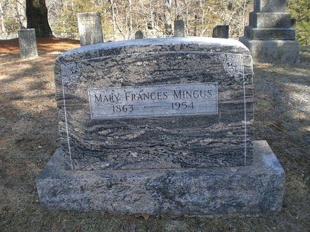 MINGUS, MARY FRANCES - Wapello County, Iowa | MARY FRANCES MINGUS