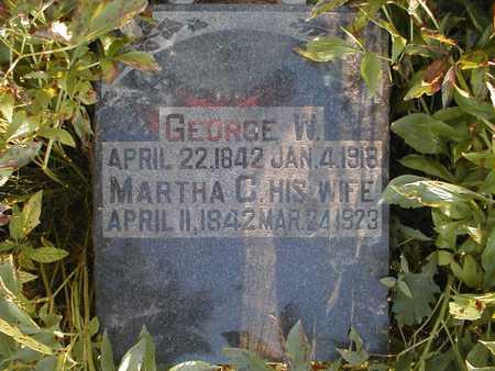 HOUK MOSS, MARTHA CATHERINE - Wapello County, Iowa | MARTHA CATHERINE HOUK MOSS