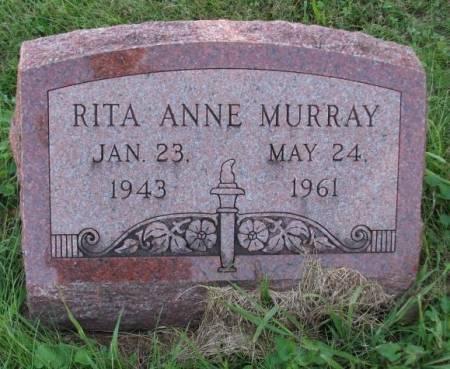 MURRAY, RITA ANN - Wapello County, Iowa   RITA ANN MURRAY