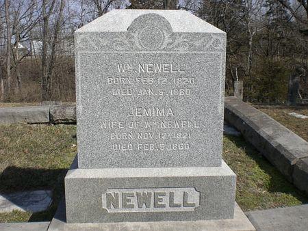 NEWELL, JEMIMA - Wapello County, Iowa | JEMIMA NEWELL