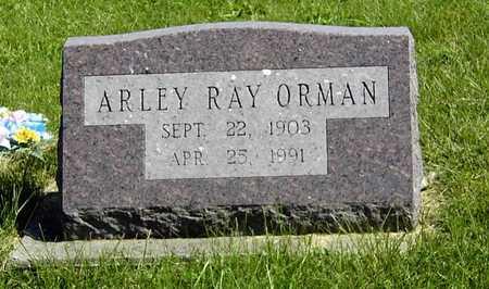 ORMAN, ARLEY RAY - Wapello County, Iowa | ARLEY RAY ORMAN
