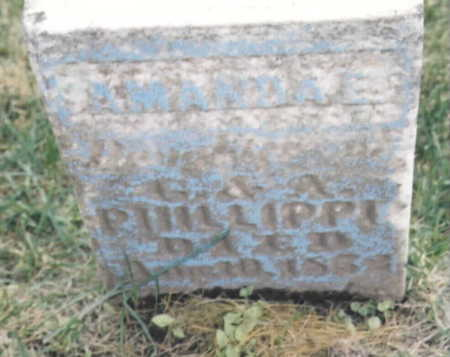 PHILLIPPE, AMANDA E. - Wapello County, Iowa | AMANDA E. PHILLIPPE