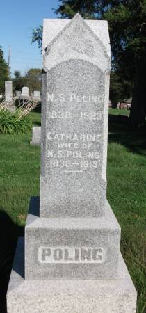 SMITH POLING, CATHARINE - Wapello County, Iowa | CATHARINE SMITH POLING