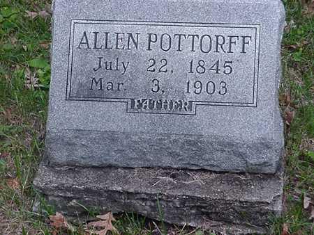 POTTORFF, ALLEN  S - Wapello County, Iowa | ALLEN  S POTTORFF