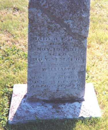 POWELL, WILLIAM O. - Wapello County, Iowa | WILLIAM O. POWELL