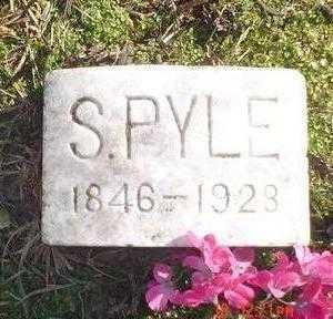 PYLE, S. - Wapello County, Iowa | S. PYLE