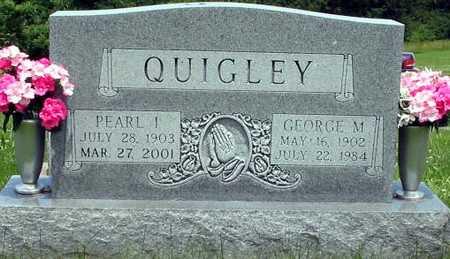 QUIGLEY, PEARL & GEORGE - Wapello County, Iowa   PEARL & GEORGE QUIGLEY