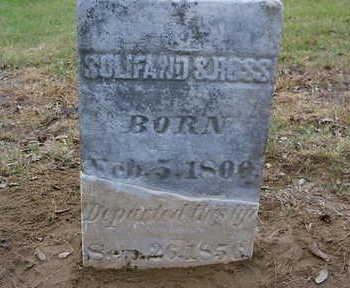 ROSS, SULIFAND S. - Wapello County, Iowa | SULIFAND S. ROSS