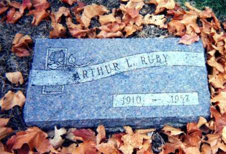 RUBY, ARTHUR - Wapello County, Iowa | ARTHUR RUBY