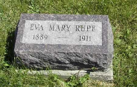 RUPE, EVA MARY - Wapello County, Iowa | EVA MARY RUPE