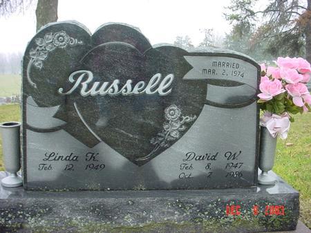 RUSSELL, DAVID WILLIAM - Wapello County, Iowa | DAVID WILLIAM RUSSELL