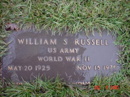 RUSSELL, WILLIAM STEPHEN - Wapello County, Iowa | WILLIAM STEPHEN RUSSELL