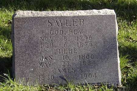 SAYLER, JAMES S. - Wapello County, Iowa | JAMES S. SAYLER