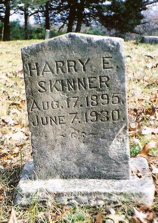 SKINNER, HARRY E. - Wapello County, Iowa | HARRY E. SKINNER