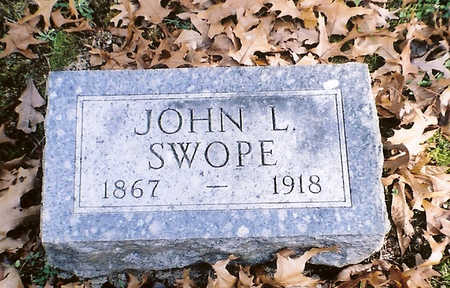 SWOPE, JOHN L. - Wapello County, Iowa | JOHN L. SWOPE