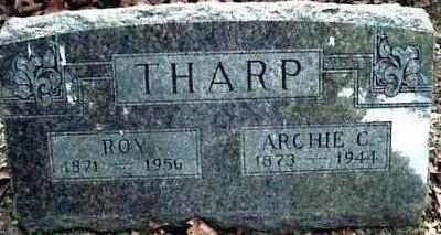 THARP, ROY - Wapello County, Iowa | ROY THARP